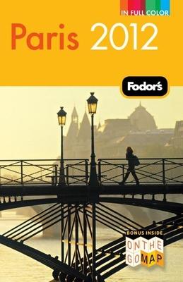 Fodor's Paris 2012 Cover