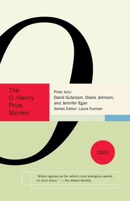 The O. Henry Prize Stories 2003 Cover Image