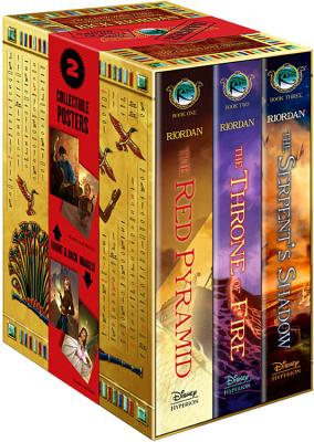 The Kane Chronicles Hardcover Boxed Set Cover