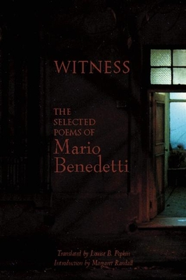 Witness: The Selected Poems of Mario Benedetti Cover Image