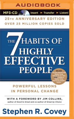 7 Habits of Highly Effective People, The: 25th Anniversary Edition Cover Image
