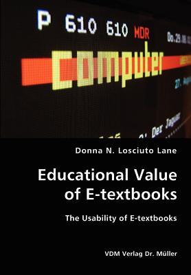 Educational Value of E-textbooks- The Usability of E-textbooks Cover Image