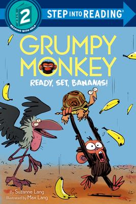 Grumpy Monkey Ready, Set, Bananas! (Step into Reading) Cover Image