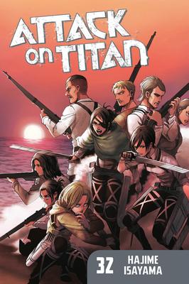 Attack on Titan 32 Cover Image
