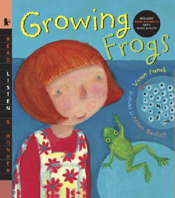 Growing Frogs [With Read-Along CD] Cover