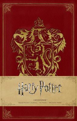 Harry Potter: Gryffindor Ruled Pocket Journal Cover Image