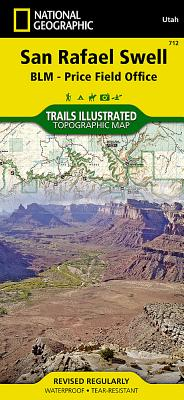 San Rafael Swell [Blm - Price Field Office] (National Geographic Trails Illustrated Map #712) Cover Image