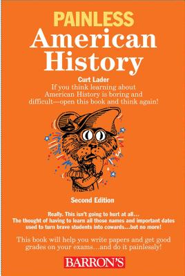 Painless American History (Barron's Painless) Cover Image