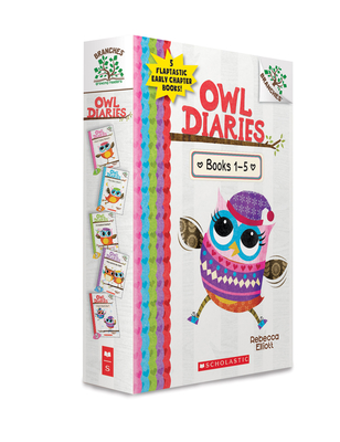 Owl Diaries, Books 1-5: A Branches Box Set Cover Image