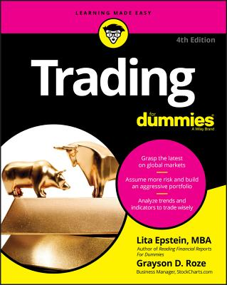 Trading for Dummies (For Dummies (Lifestyle)) Cover Image