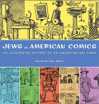 Jews and American Comics Cover
