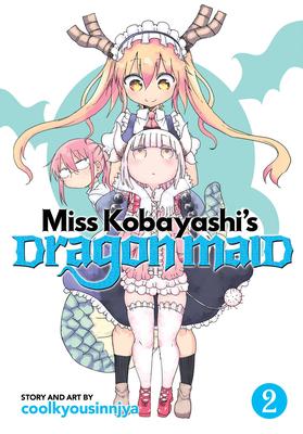 Miss Kobayashi's Dragon Maid Vol. 2 Cover Image