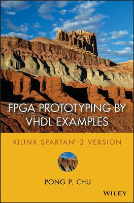 FPGA Prototyping by VHDL Examples Cover