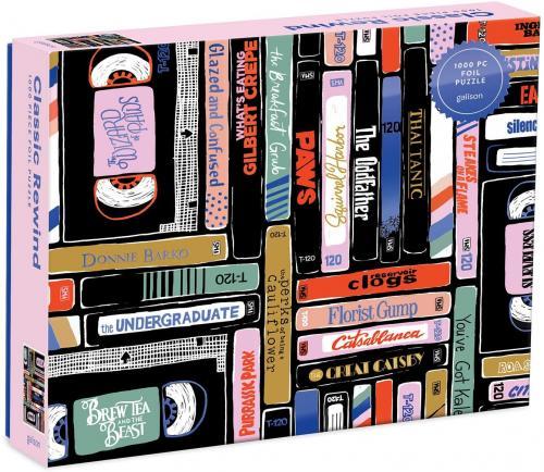 Classic Rewind 1000 Piece Foil Puzzle Cover Image