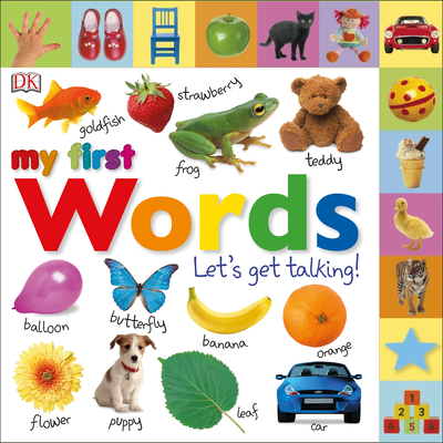 Tabbed Board Books: My First Words: Let's Get Talking! (My First Tabbed Board Book) Cover Image