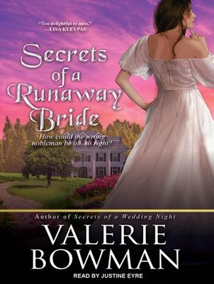Secrets of a Runaway Bride (Secret Brides (Audio) #2) Cover Image