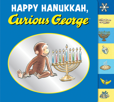 Happy Hanukkah, Curious George Cover Image