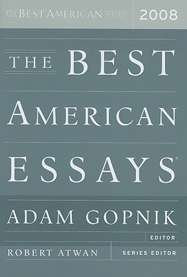 The Best American Essays 2008 Cover Image