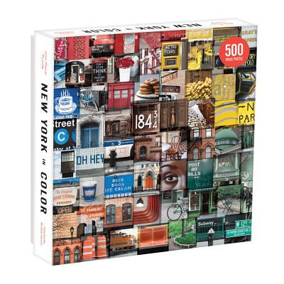New York in Color 500 Piece Puzzle Cover Image