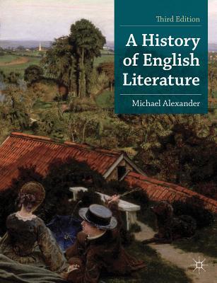 A History of English Literature (MacMillan Foundations #6) Cover Image