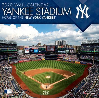New York Yankees Yankee Stadium: 2020 12x12 Stadium Wall Calendar Cover Image