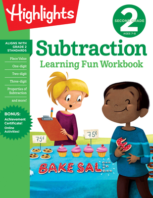 Second Grade Subtraction (Highlights Learning Fun Workbooks) Cover Image