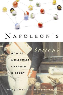 Napoleon's Buttons: How 17 Molecules Changed History Cover Image