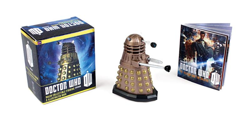 Doctor Who: Dalek Collectible Figurine and Illustrated Book (RP Minis) Cover Image