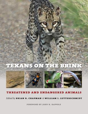 Texans on the Brink: Threatened and Endangered Animals (Integrative Natural History Series, sponsored by Texas Research Institute for Environmental Studies, Sam Houston State University) Cover Image
