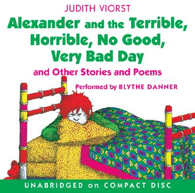 Alexander and the Terrible, Horrible, No Good, Very Bad Day CD Cover Image