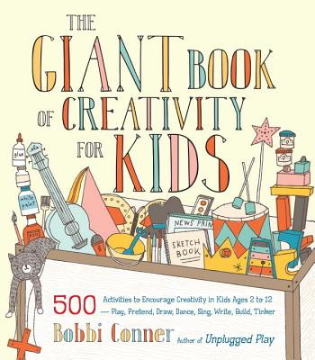 The Giant Book of Creativity for Kids Cover