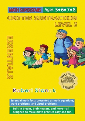 Math Superstars Subtraction Level 2: Essential Math Facts for Ages 5 - 8 Cover Image