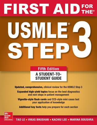 First Aid for the USMLE Step 3, Fifth Edition Cover Image