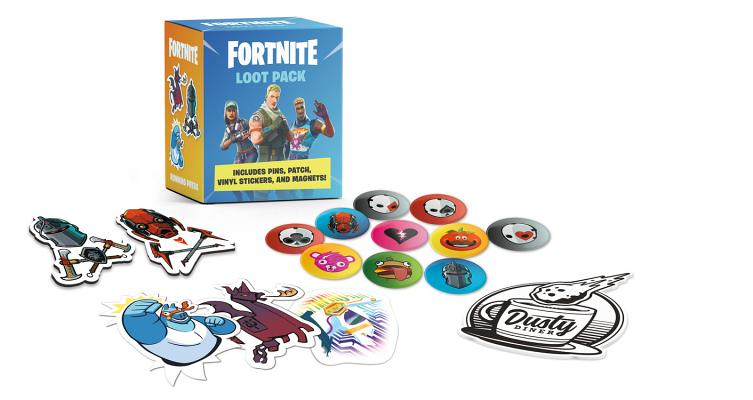 FORTNITE (Official) Loot Pack: Includes Pins, Patch, Vinyl Stickers, and Magnets! (RP Minis) Cover Image