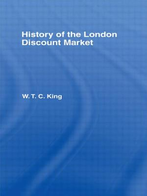 History of the London Discount Market Cover Image