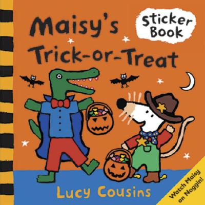 Maisy's Trick-or-Treat Sticker Book Cover Image