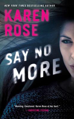 Say No More Cover Image