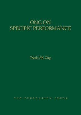 Ong on Specific Performance Cover Image