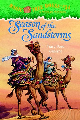 Magic Tree House #34: Season of the Sandstorms Cover Image