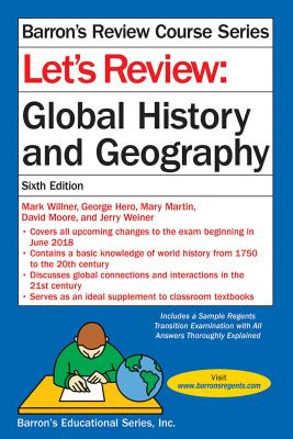 Let's Review: Global History and Geography (Barron's Regents NY) Cover Image