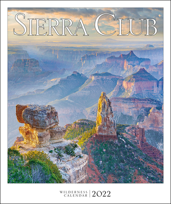 Sierra Club Wilderness Calendar 2022 Cover Image