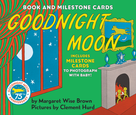 Goodnight Moon Board Book with Milestone Cards Cover Image
