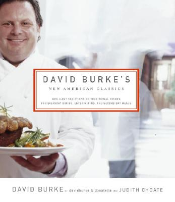 David Burke's New American Classics Cover
