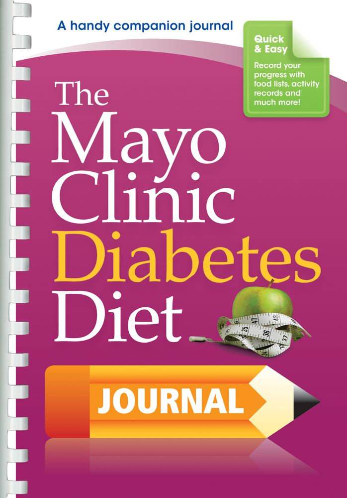 The Mayo Clinic Diabetes Diet Journal Cover