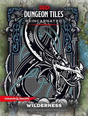 D&D DUNGEON TILES REINCARNATED: WILDERNESS (Dungeons & Dragons) Cover Image