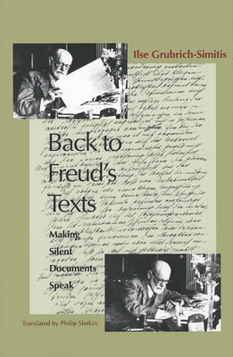 Cover for Back to Freud's Texts