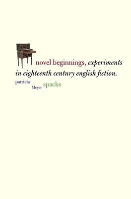 Cover for Novel Beginnings
