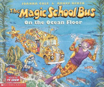 The Magic School Bus on the Ocean Floor Cover Image