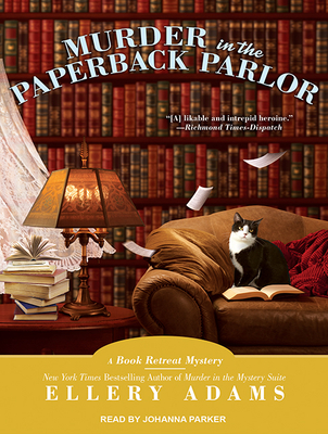 Murder in the Paperback Parlor (Book Retreat Mystery #2) Cover Image