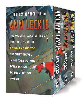 The Imperial Radch Boxed Trilogy: Ancillary Justice, Ancillary Sword, and Ancillary Mercy Cover Image